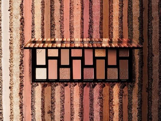 Too Faced's new Born This Way eyeshadow palette is your classic nude range with a touch of sparkle