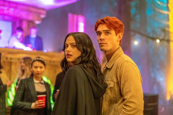Veronica and Archie in 'Riverdale'