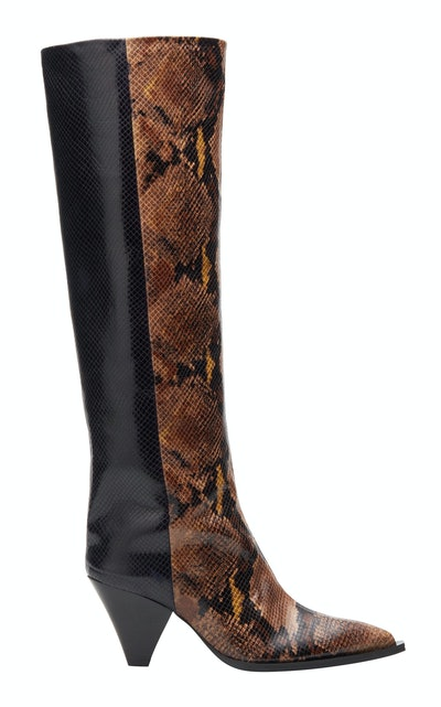 Monique Two-Tone Boots