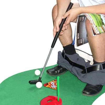 SYZ Toilet Golf Set