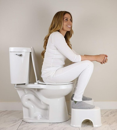 Squat and Go Space Saving Toilet Stool