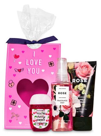 Rose mini-gift set