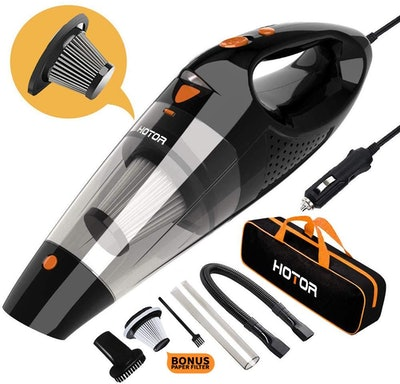 HOTOR Corded Car Vacuum Cleaner