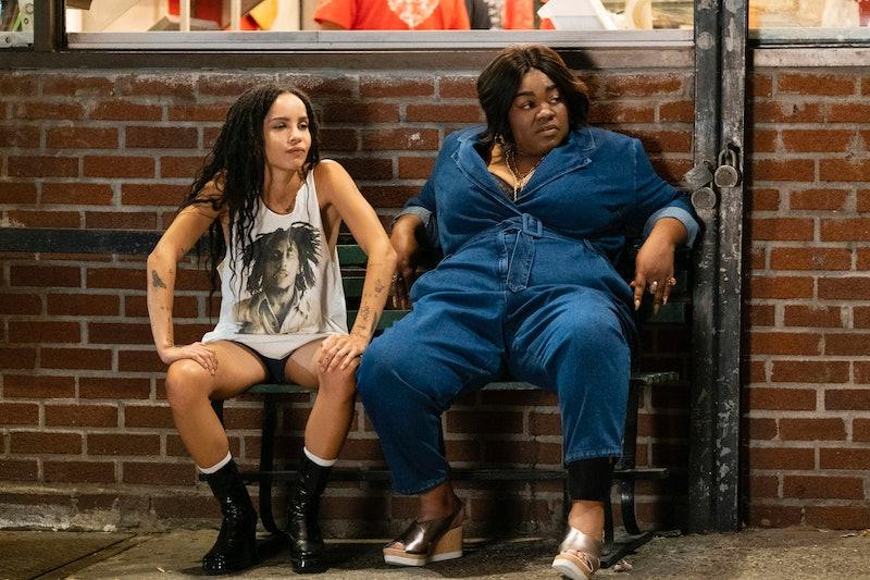 Robyn (Zoë Kravitz) and Cherise (Da'Vine Joy Randolph) in Hulu's High Fidelity
