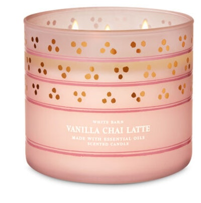 Vanilla Chai Latte 3-wick candle