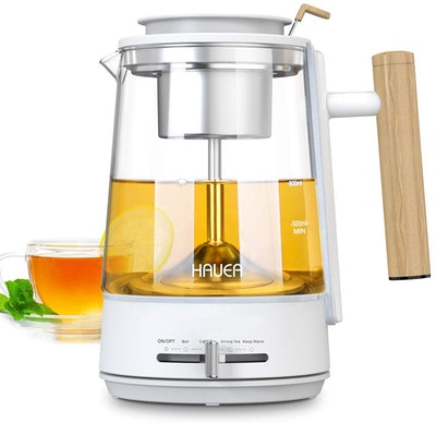 HAUEA Electric Kettle With Removable Stainless Steel Strainer