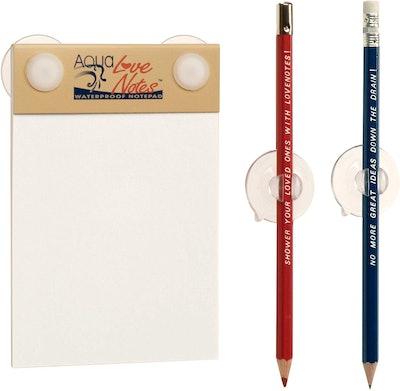 Aqua Notes Shower Notepad