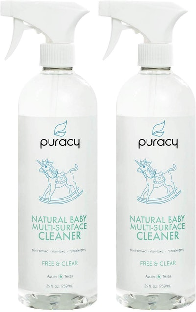 Puracy Natural Baby Multi-Surface Cleaner And Toy Disinfectant Spray