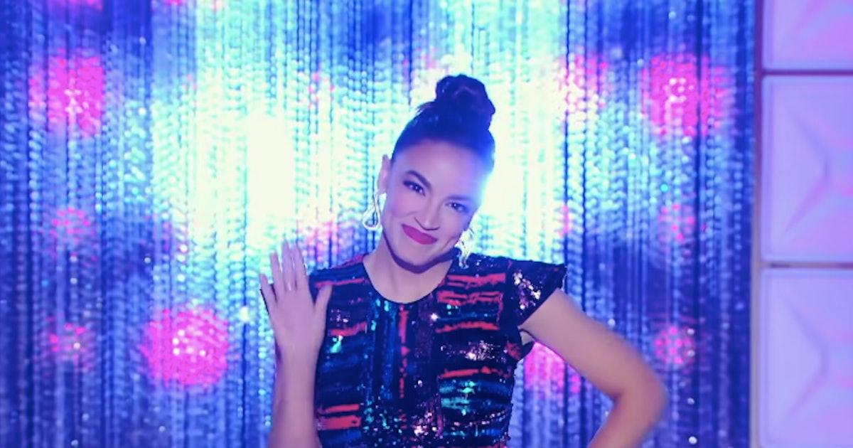 Alexandria Ocasio-Cortez Is Ready For 'RuPaul's Drag Race' In This Season 12 Trailer