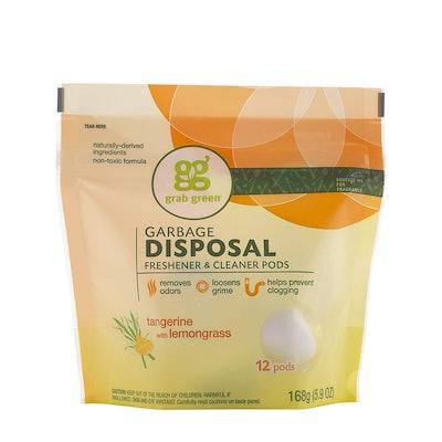 Grab Green Garbage Disposal Cleaner Pods (12-Pack)