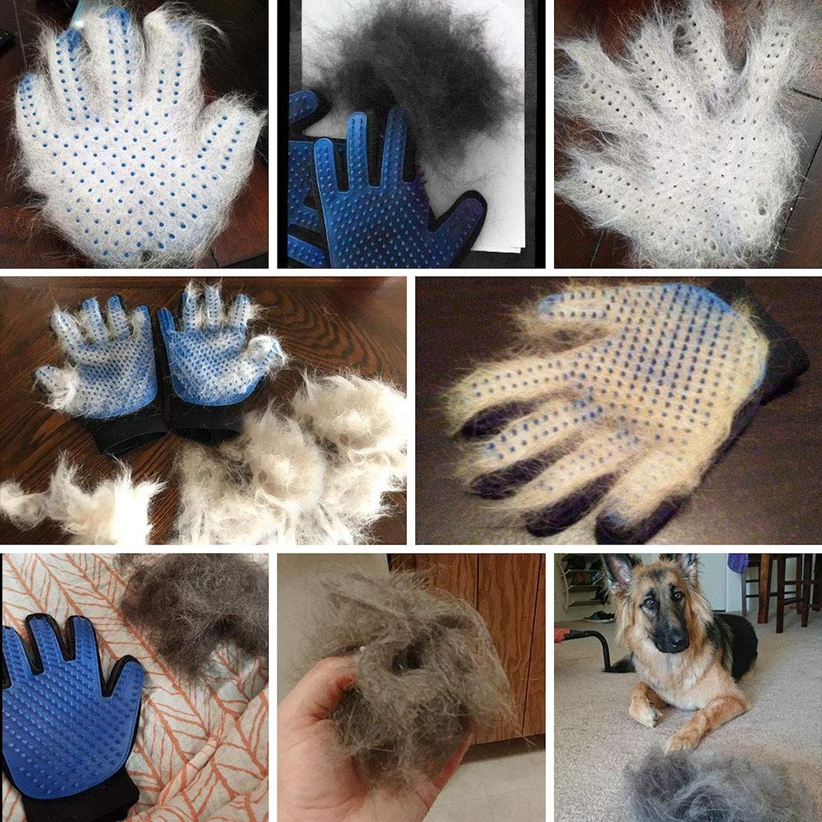 Pet Grooming Gloves (1 Pair)