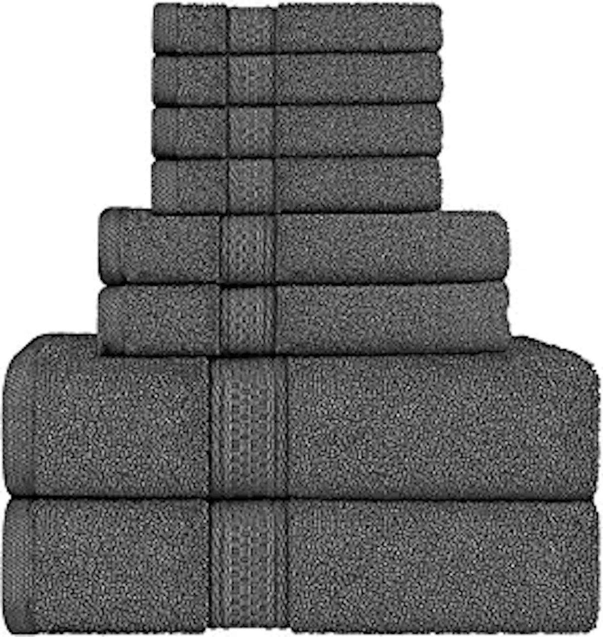 Utopia Towels Towel Set (8 Pieces)