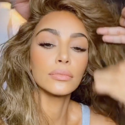 Kim Kardashian's new hair color is bringing the bronde trend back into the spotlight