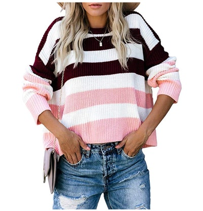 Suimiki Women's Casual Long Sleeve Pullover