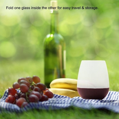 Nyicey Unbreakable Silicone Wine Glasses