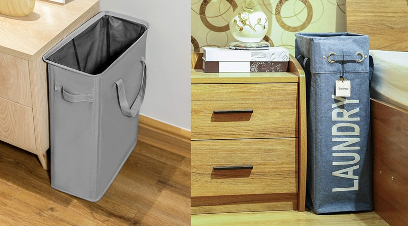 best laundry hampers for small spaces