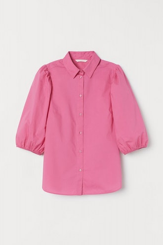 Puff-Sleeved Blouse
