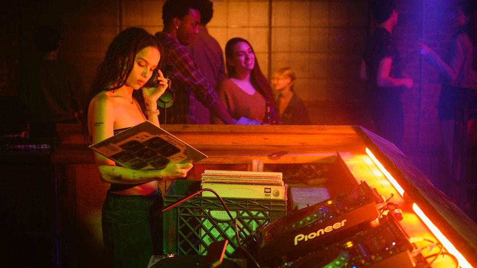 Zoë Kravitz as Rob in High Fidelity