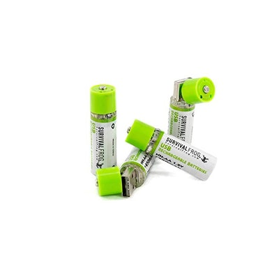 Survival Frog Rechargeable Batteries (4-Pack)