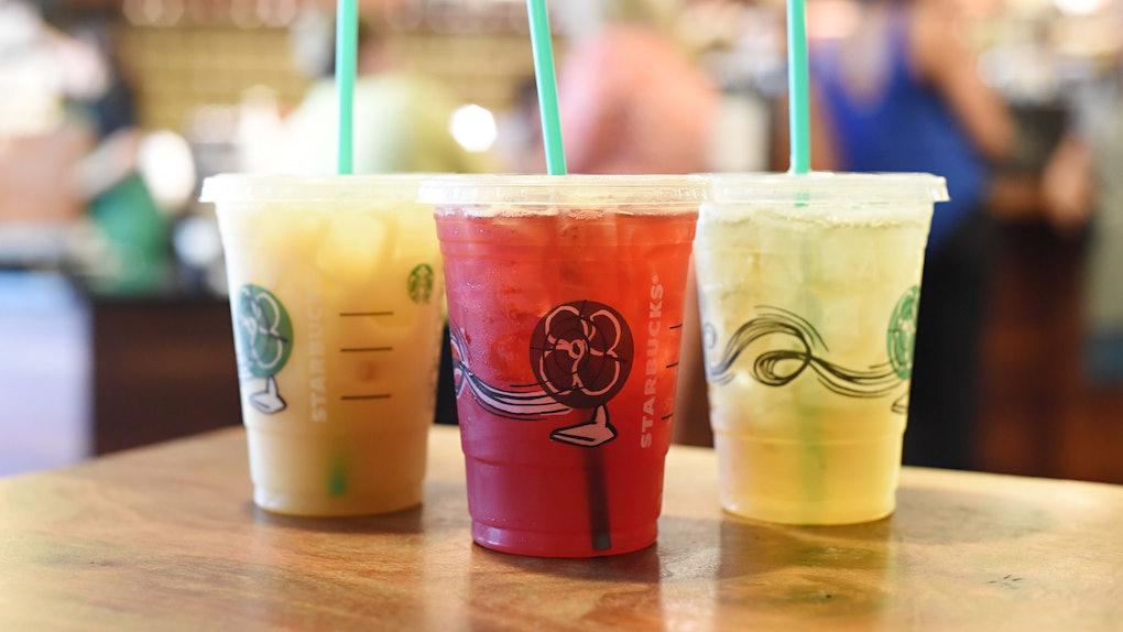 This Starbucks Orange Drink from the secret menu tastes like peach gummy rings.
