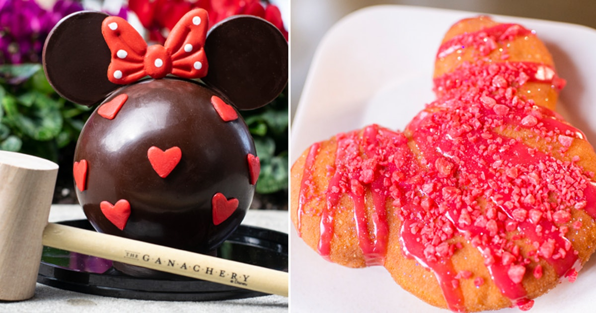 Disney Parks Are Celebrating Valentine's Day All Month With These 10 Treats
