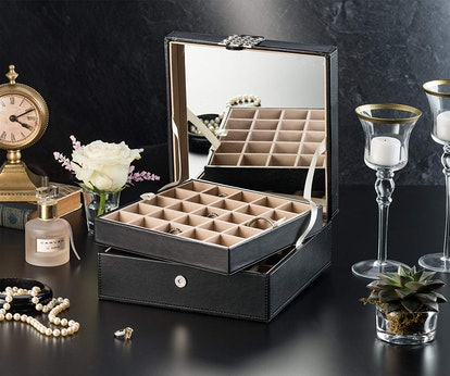 Glenor Co. 50 Slot Jewelry Box