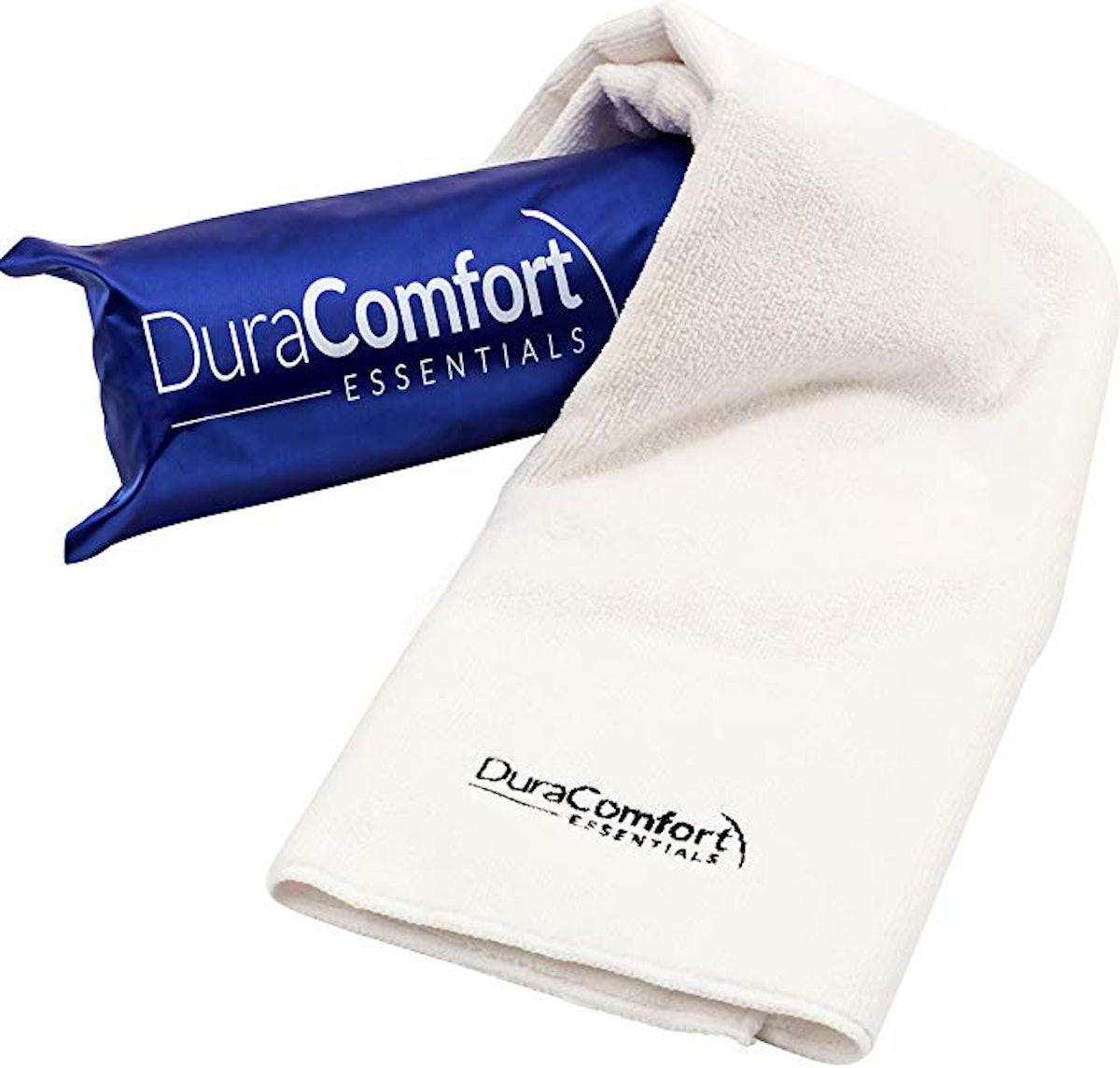 DuraComfort Essentials Anti-Frizz Microfiber Hair Towel,