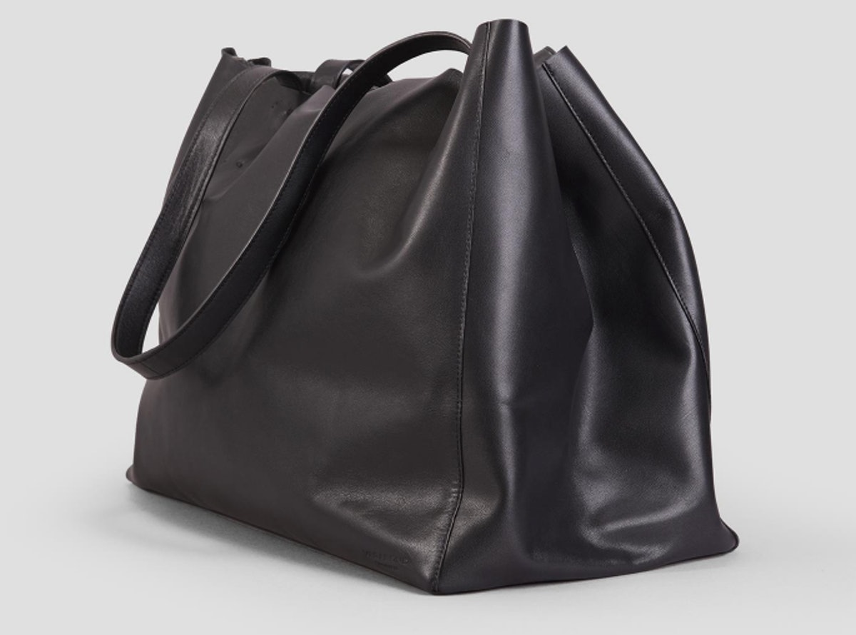 GOTHENBURG BLACK LEATHER BAG
