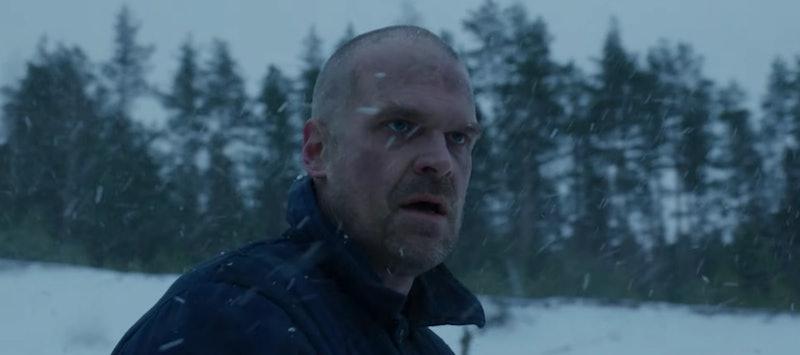 Hopper in 'Stranger Things 4'