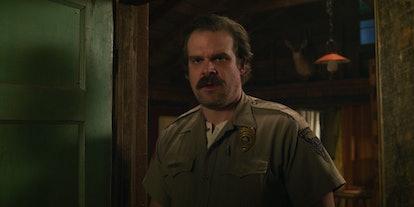 David Harbour is Hopper in 'Stranger Things'