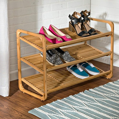 Honey-Can-Do Bamboo Shoe Shelf