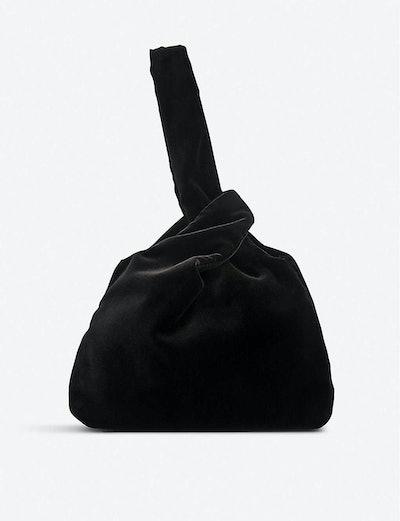 LK Bennett Taylor Velvet Clutch Bag