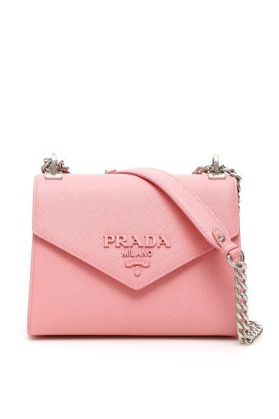 Prada Envelope Cain Strap Shoulder Bag