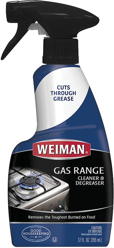 Weiman Gas Range Cleaner and Degreaser