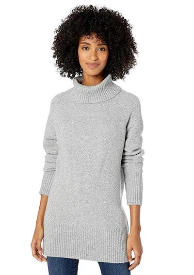 Goodthreads Women's Boucle Turtleneck Sweater