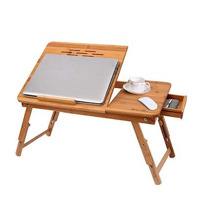 Modrine Bamboo Laptop Desk