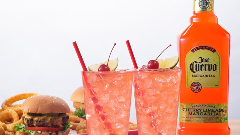 Jose Cuervo's New Cherry Limeade Margarita is a refreshing sip.