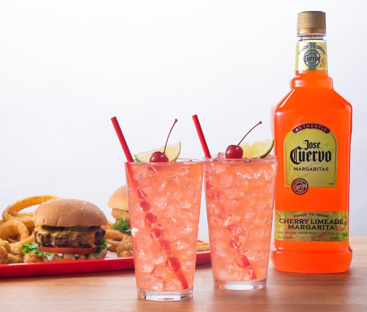 Jose Cuervo's New Cherry Limeade Margarita is a refreshing sip.