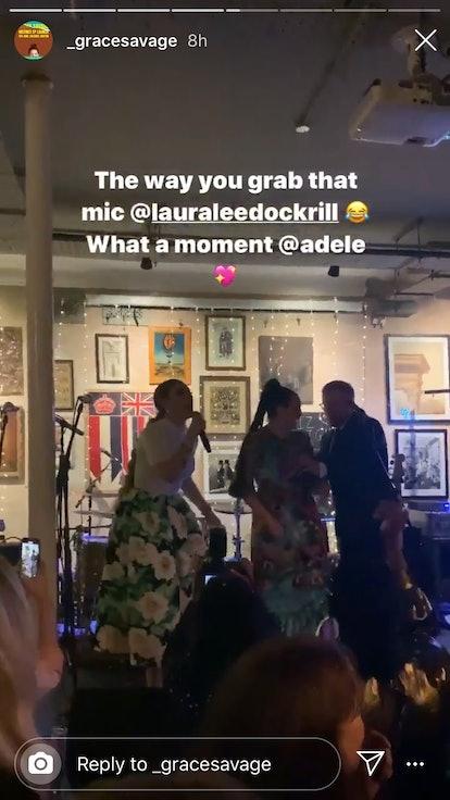 Adele officiated her best friend's wedding.