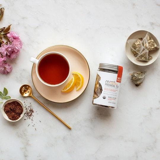 tea from the munchkin's milkmakers prenatal line