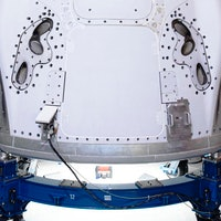 SpaceX photo shows Crew Dragon after it has completed latest test