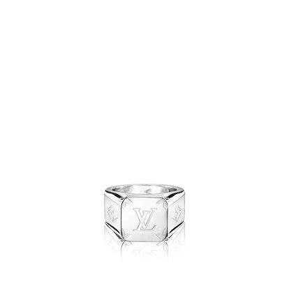 Monogram Signet Ring