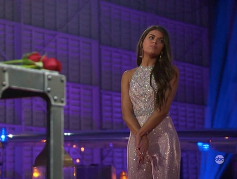 Madison's rose ceremony jumpsuit was one of the best looks of the night.