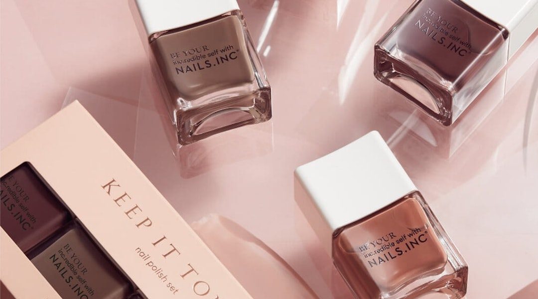 Nails.INC's New Keep It Tonal Nail Polish Collection Has Four Hues