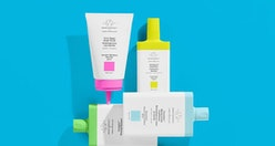 Products from Drunk Elephant's haircare line.