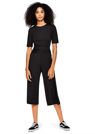find. Women's Jumpsuit Ribbed Jersey Crop Fit Short Sleeves