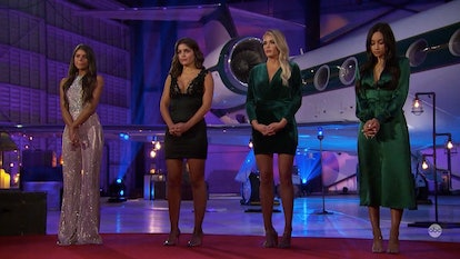 The Bachelor's Madison's jumpsuit was the standout ensemble from the rose ceremony.