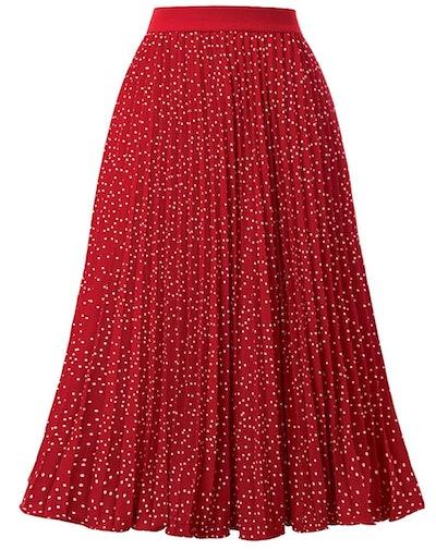 Kate Kasin Women's High Waist Skirt