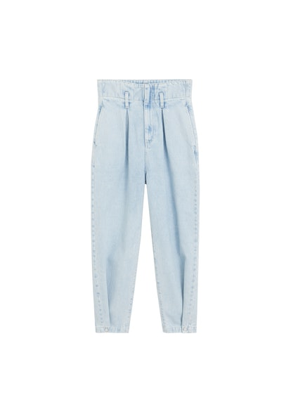 Slouchy Super High Waist Darts Jeans
