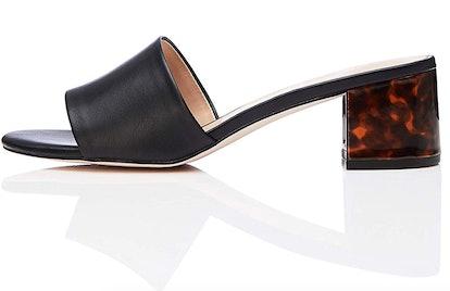find. Women's Block Heel Mule Open-Toe Sandals